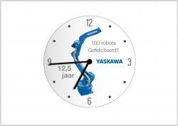 YASKAWA-opdruk-klok